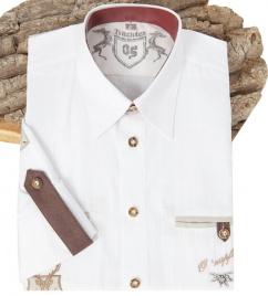 220002 2620/01 Orbis Hemd weiß mit 2 Brusttaschen