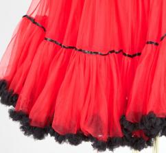 311955 MarJo Fluffy Petticoat 55er rot schwarz