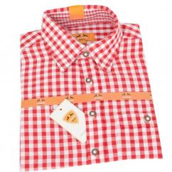 Country Maddox Kinderhemd Lukas K1 karo rot