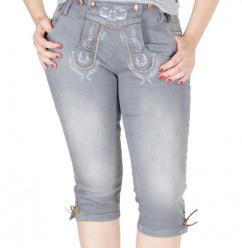 521900 Marjo Jeans Kniebund Stretch grau