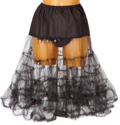 1000 2223  my choice Petticoat 70 cm schwarz